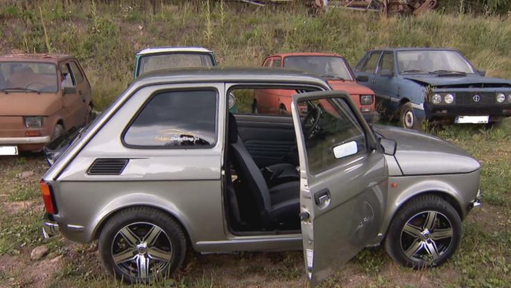 """Fiat 126p w nowej odsłonie. Polak zbudował elektrycznego """"malucha"""""""