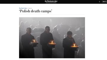 """""""Washington Post"""": ustawa o IPN może ożywić dyskusję o roli Polski w Holokauście"""