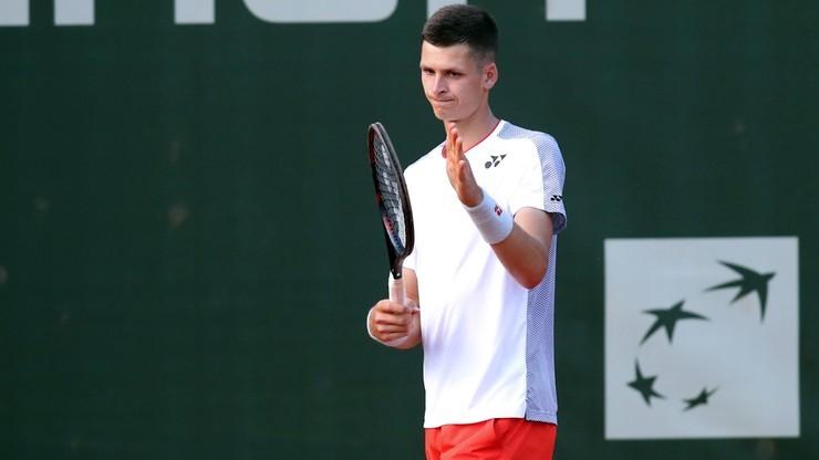 ATP w Montpellier: Hubert Hurkacz i Szymon Walków odpadli w 1. rundzie debla