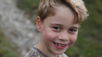 Książę George skończył 7 lat. To najstarszy syn Williama i Kate