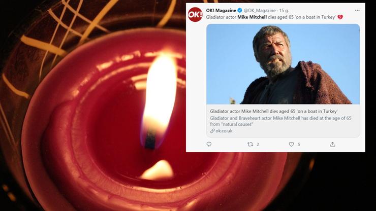 """Zmarł Mike Mitchell. Aktor znany z """"Gladiatora"""" miał 65 lat - Polsat News"""