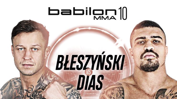 Błeszyński chce zasłużyć na pas Babilon MMA, Dias proponuje walkę na Księżycu