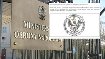 Pracownicy MON wydali 15 mln zł płacąc służbowymi kartami. Resort odpowiada