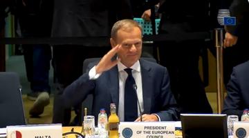 """""""Time to say goodbye"""". Tusk żegna się z Radą Europejską i publikuje klip"""