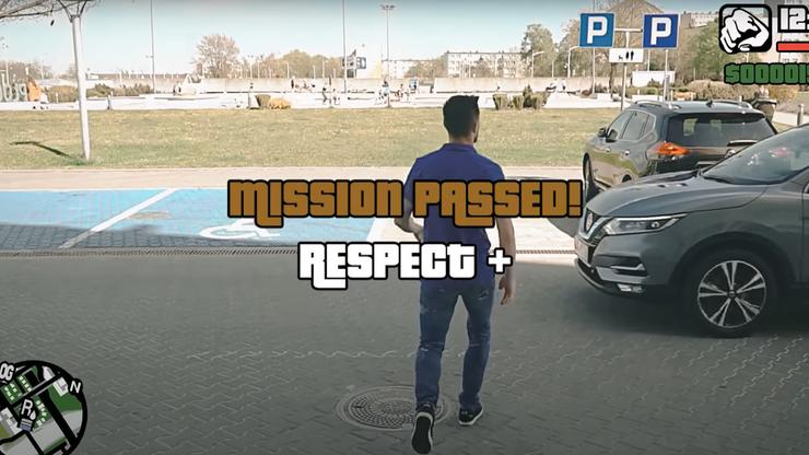 GTA Wisła Płock! Klub przedstawił zawodnika w stylu popularnej gry komputerowej (WIDEO)