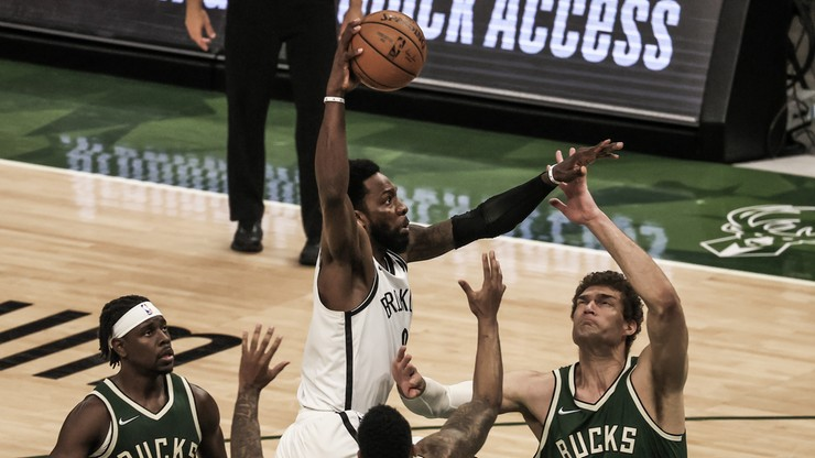 NBA: Koszykarze Milwaukee Bucks lepsi od Brooklyn Nets