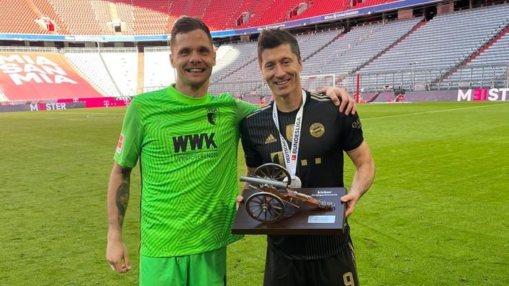 """Rafał Gikiewicz pogratulował Robertowi Lewandowskiemu. """"Jesteś legendą"""""""