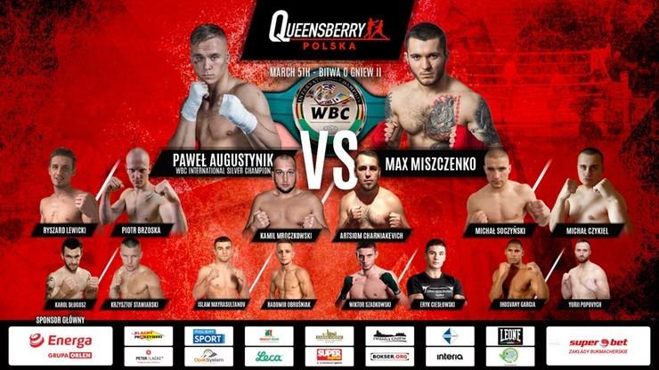 """Queensberry Polska """"Bitwa o Gniew II"""": Transmisja w Polsacie Sport i Polsacie Sport Fight"""
