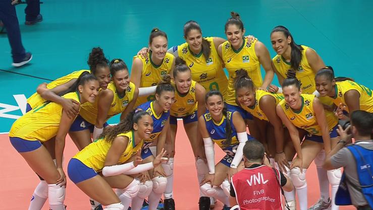 Liga Narodów siatkarek: USA - Brazylia. Transmisja w Polsacie Sport