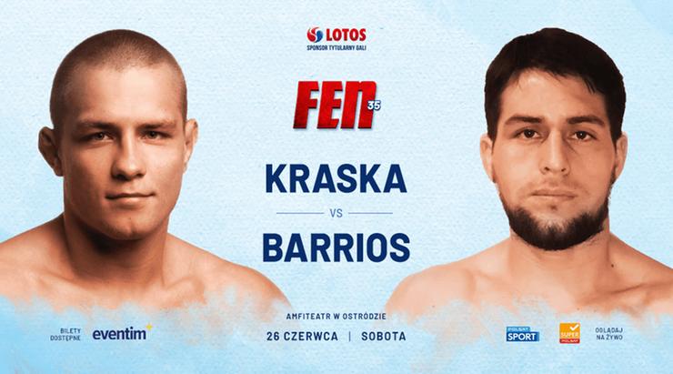 FEN 35: Kraska kontra Barrios
