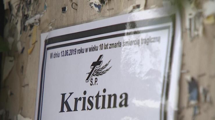 Ruszył proces ws. zabójstwa 10-letniej Kristiny. Sąd uwzględnił wniosek o wyłączenie jawności