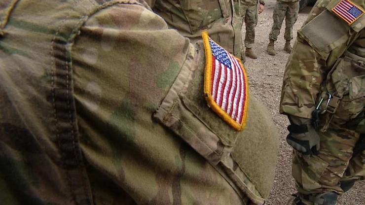 Pożar pojazdu wojsk USA na Dolnym Śląsku. Trzech żołnierzy rannych