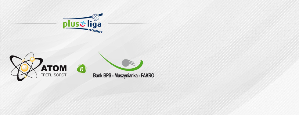 Atom Trefl Sopot - Bank BPS Muszynianka Fakro Muszyna