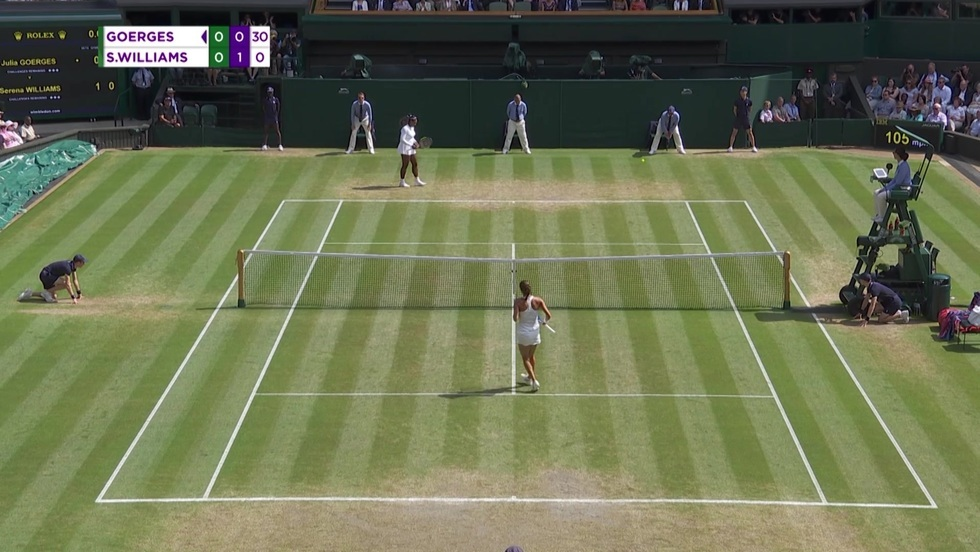 Julia Goerges - Serena Williams