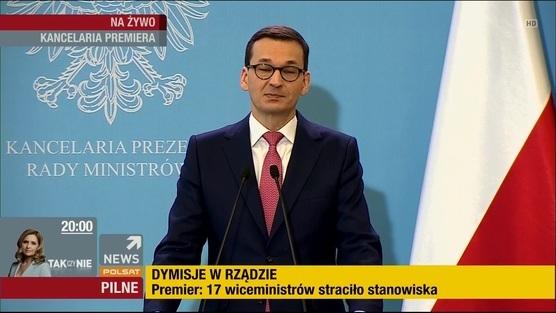 Konferencja Premiera Mateusza Morawieckiego - 12.03.2018
