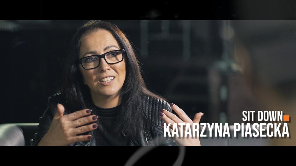 Sit down. Rozmowy o stand-upie #4 Katarzyna Piasecka