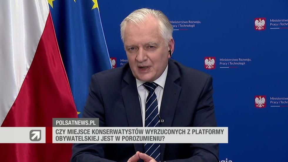 Gość Wydarzeń - Jarosław Gowin